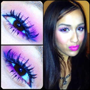 Tutorial for this look is up on my YouTube channel <3