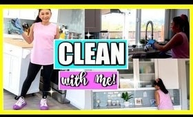 CLEAN WITH ME! | What I get done in 2 hours!