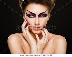 makeup ideas long l keywords devil - Devil Halloween Makeup Ideas