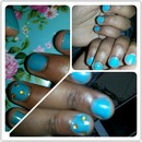 my lil sister nails