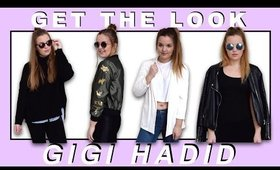 GET THE LOOK GIGI HADID (CASUAL OUTFITS)