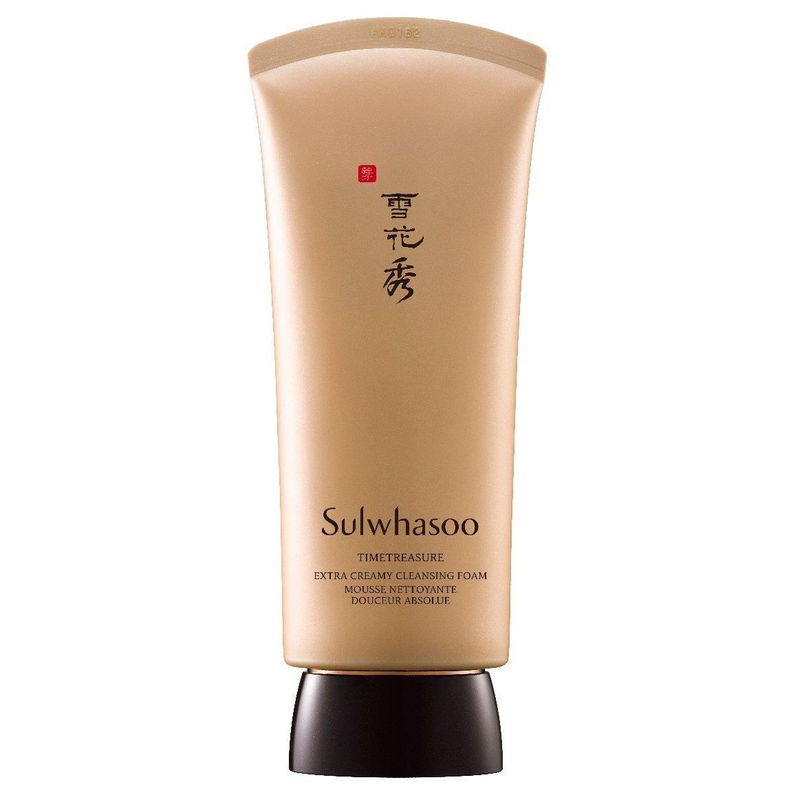 Sulwhasoo Timetreasure Extra Creamy Cleansing Foam product swatch.