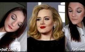 Adele's Grammy 2012 Makeup Looks