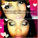 Valentine's Day Makeup Tutorial Look #2 Romantic Look.