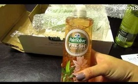 Influenster unboxing: ★Palmolive Fresh Infusions ★