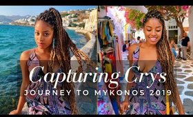 Mykonos Girl Trip w/ Dirty Blonde Knee Length Box Braids