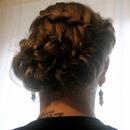 Weaved Braided Updo