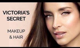 Victoria's Secret Fashion Show 2018 Hair & Makeup Tutorial   Makeupzone.net