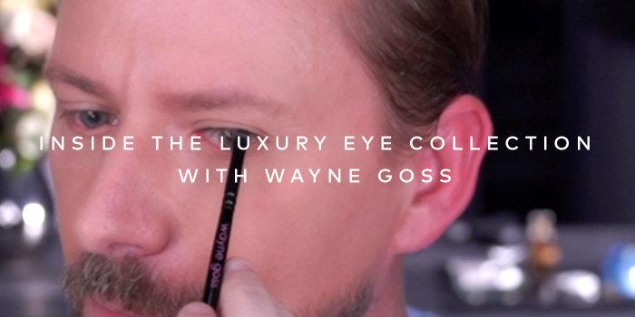Watch as makeup artist Wayne Goss talks us through the Luxury Eye Collection!