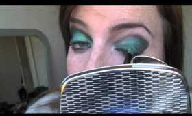 Mermaid Teal Dramatic Eye Shadow Tutorial MakeupDollbaby