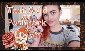 How Much Did I Make in April 2020?! | What Sold on Poshmark and Ebay | Part Time Reseller
