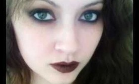 romantic vampire wearable makeup pictures only