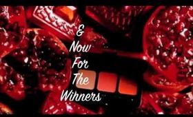 Contest Winners **Finally**