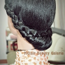 The Vintage Duchess Braided Updo