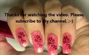 Glam Doll-nail art tutorial.... New-year's eve party special....