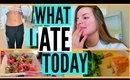 WHAT I ATE TODAY! & Cleanse Update | Casey Holmes