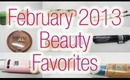 February 2013 Beauty Favorites and a Giveaway!