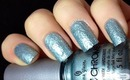 China Glaze # FAIL !! - Crinkle Chrome Collection Swatches- Nail polish Swatch review Pics