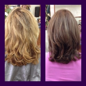 One of my favorite clients. I love when they trust me to do whatever I want. (: