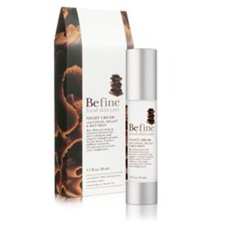 Be fine Night Cream with Cocoa, Millet & Rice Bran