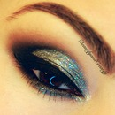 Close up of NYE look