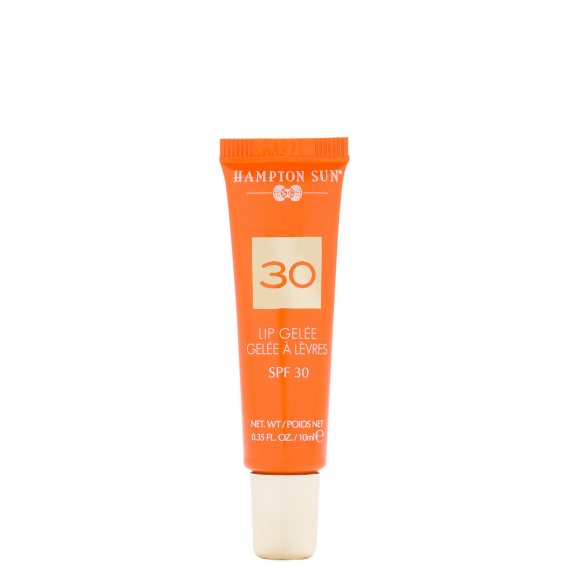 Hampton Sun SPF 30 Lip Gelée product swatch.