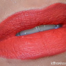 Lime Crime Suedeberry over Rimell #110