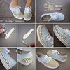 DIY Studded Sneakers