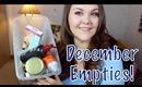 December Empties!!