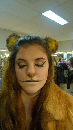 Inspired Wizard of Oz Lion.
