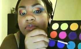 Haute Rainbow Make up tutorial