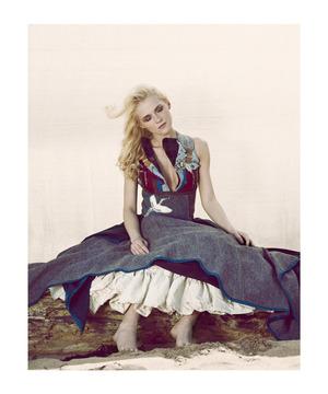 Fashion shoot with designer Judy R Clark