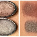 Homemade Makeup Swatches | Neutral Brown and Bronze Shadows