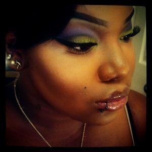 Makeup By Naya:: YT- http://www.youtube.com/makeupbynaya Look: Psycho Barbie-http://www.youtube.com/watch?v=uZoSFb4N9DU FB- http://www.facebook.com/pages/Make-Up-By-Naya/216495728414900