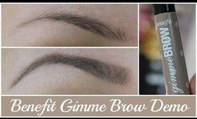 Live Demo/ Application: Benefit Gimme Brow (Eye Brow Routine)