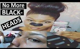 Remove Stubborn Blackheads | Biore Charcoal Pore Strips