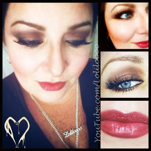 Eyes: 👀 @loraccosmetics shadow primer #lorac @bareminerals 5 in 1 cream eyeshadow in #divinewine #bareminerals @dark_heart_designs #wickedgame #injoyandsorrow #heartkiller @wetnwild_official #wetnwild #cremebrulee #matte #shadow @officialelfcosmetics brown gel liner @revlon colorstay eyeliner in brown @lorealparisusa double extend mascara in black @redcherrylashes in #747L #lashesallday #lashes #redcherrylashes #dhd #darkheartdesigns #darkheartdoll #indiecosmetics #indieaddict  Brows: 💕 @clinique_us brow shaping taupe #clinique @officialelfcosmetics clear brow gel  Face: 👩@officialelfcosmetics primer HD setting powder and HD under eye setting powder @officialelfcosmetics contour blush/bronzer in #stlucia @lauramercier highlight 01 #lauramercier @maybelline  dream lumi concealer in nude chair, age rewind concealer in neutralize and dream fresh BB cream in light/medium #maybelline  Lips: 👄 @nyxcosmetics #nyxfaceawards #nyx #buttergloss #devilsfoodcake