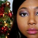 Sugar Plum holiday makeup