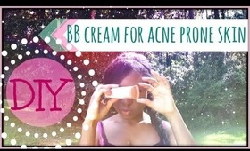 DIY BB Cream for Acne Prone Skin   Collab with MysteryMiss8
