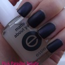 Essie -  Matte About You Over O..P.I - Russian Navy