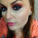 Smokey eye fall make up jaclyn hill