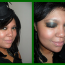 meeee!!! w/ St.Patty's day makeup