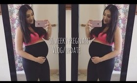 36 WEEKS PREGNANCY VLOG/UPDATE - Depression? Complications? My Baby Shower and Belly shot!