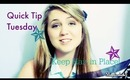 How to Keep Your Hair In Place When Changing Clothes [Quick Tip Tuesday]