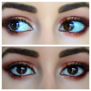 I love these colors because they are flattering on every eye color.