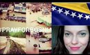 Current Events & Eye Makeup Look - Floods in Bosnia