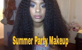 Summer Party Makeup