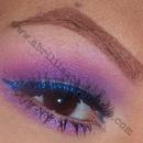 Purple w/ Blue Liner