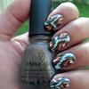 Ikat Nails