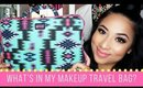 What's In My Makeup Travel Bag? + GIVEAWAY!